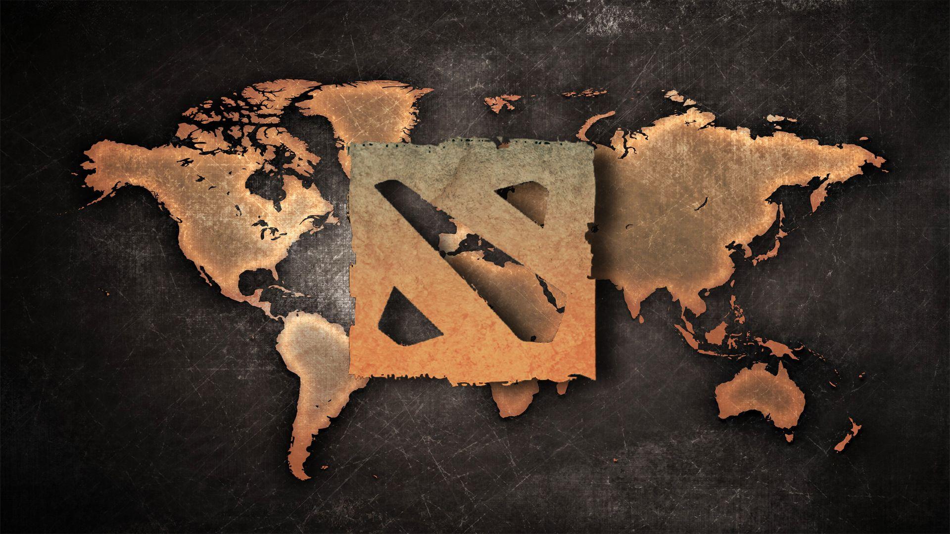 Dota 2 World Map Wallpaper More Httpdota2wallscom