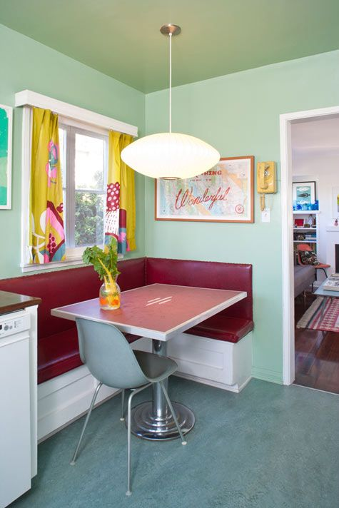 vintage style the 1940s nook breakfast nooks and retro on kitchen nook id=58334