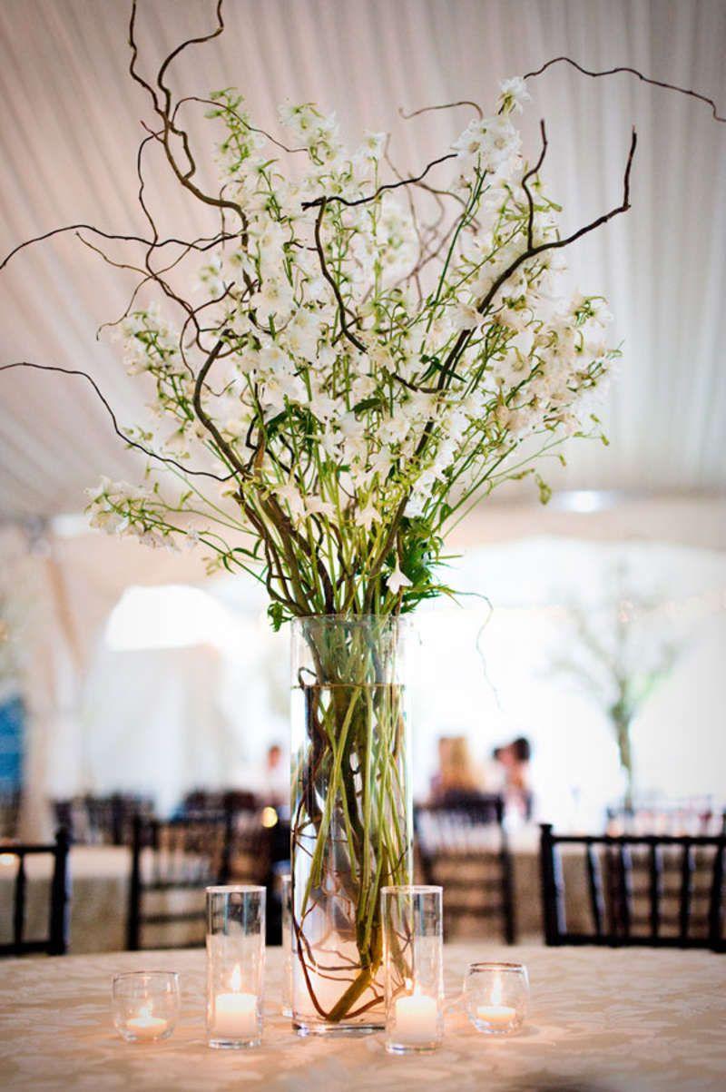 Branch Wedding Centerpieces On Pinterest