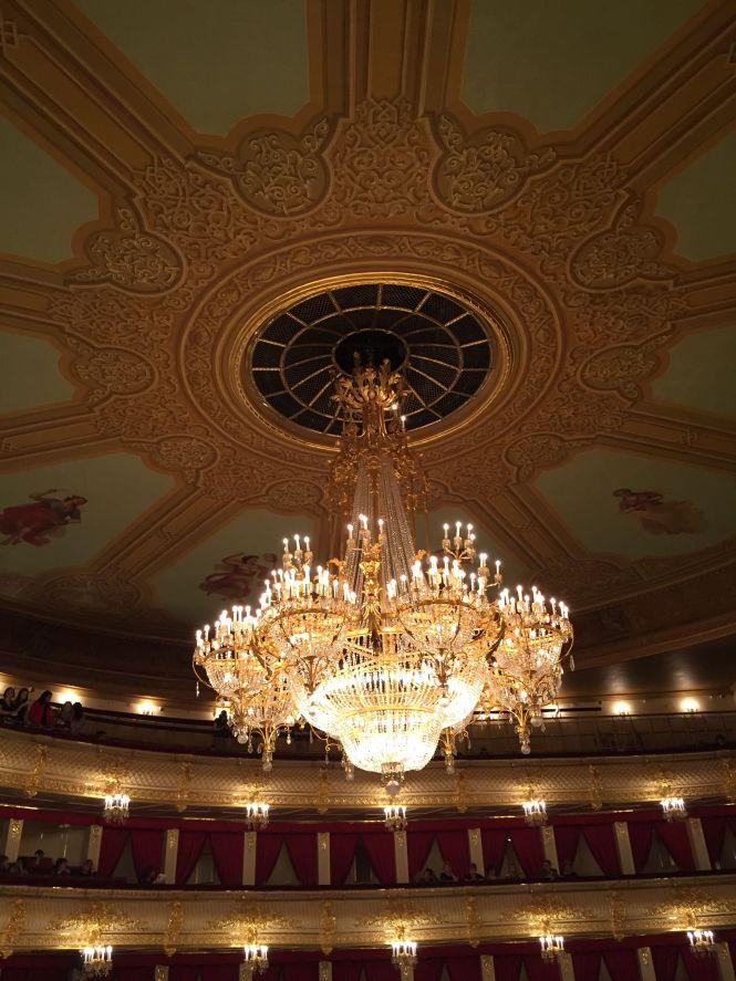 The Bolshoi Theater S Chandelier