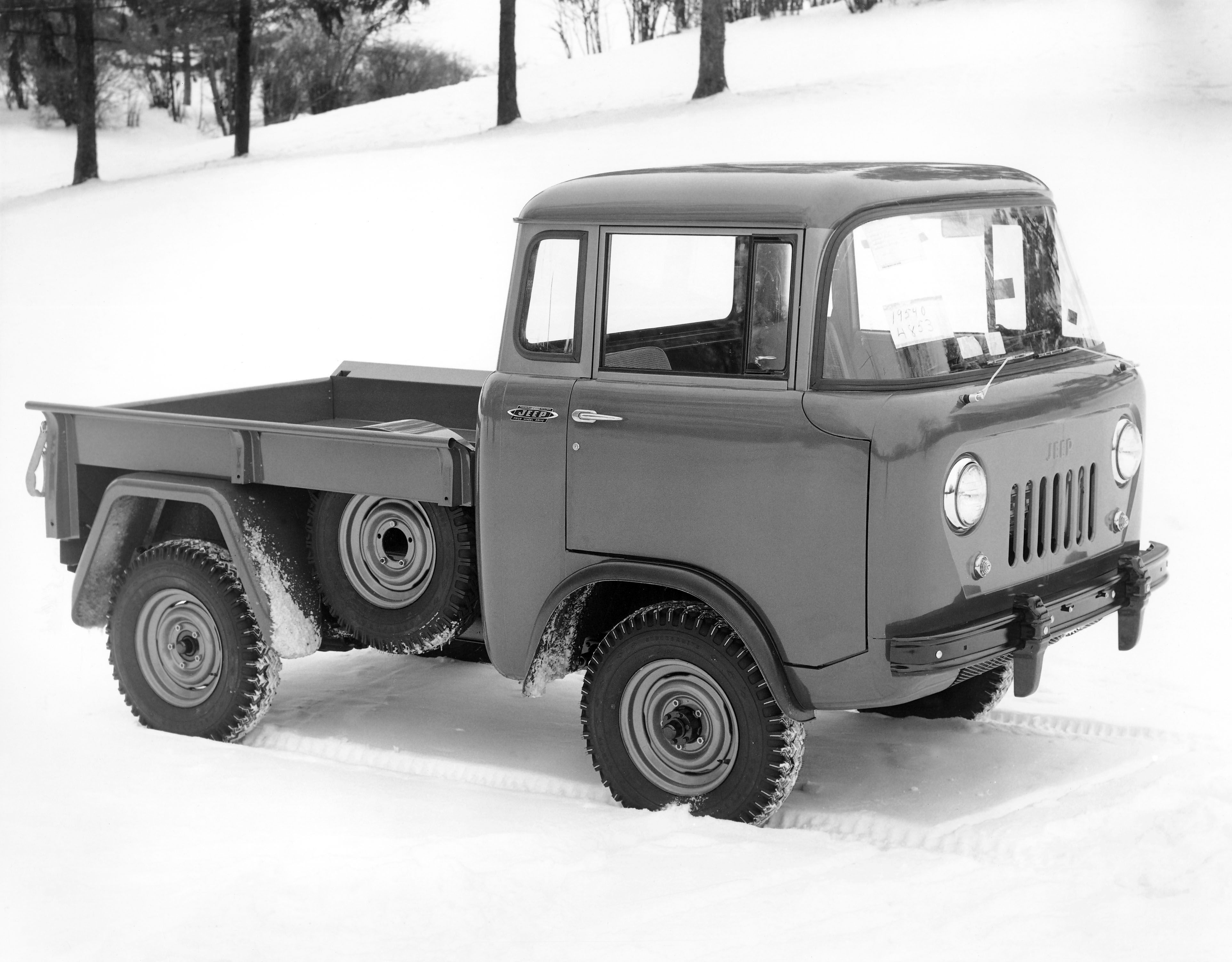 82 best Jeep Forward Control images on Pinterest