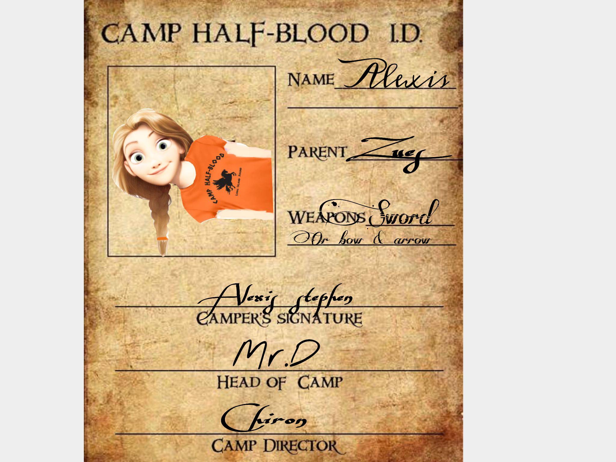My Camp Half Blood Id