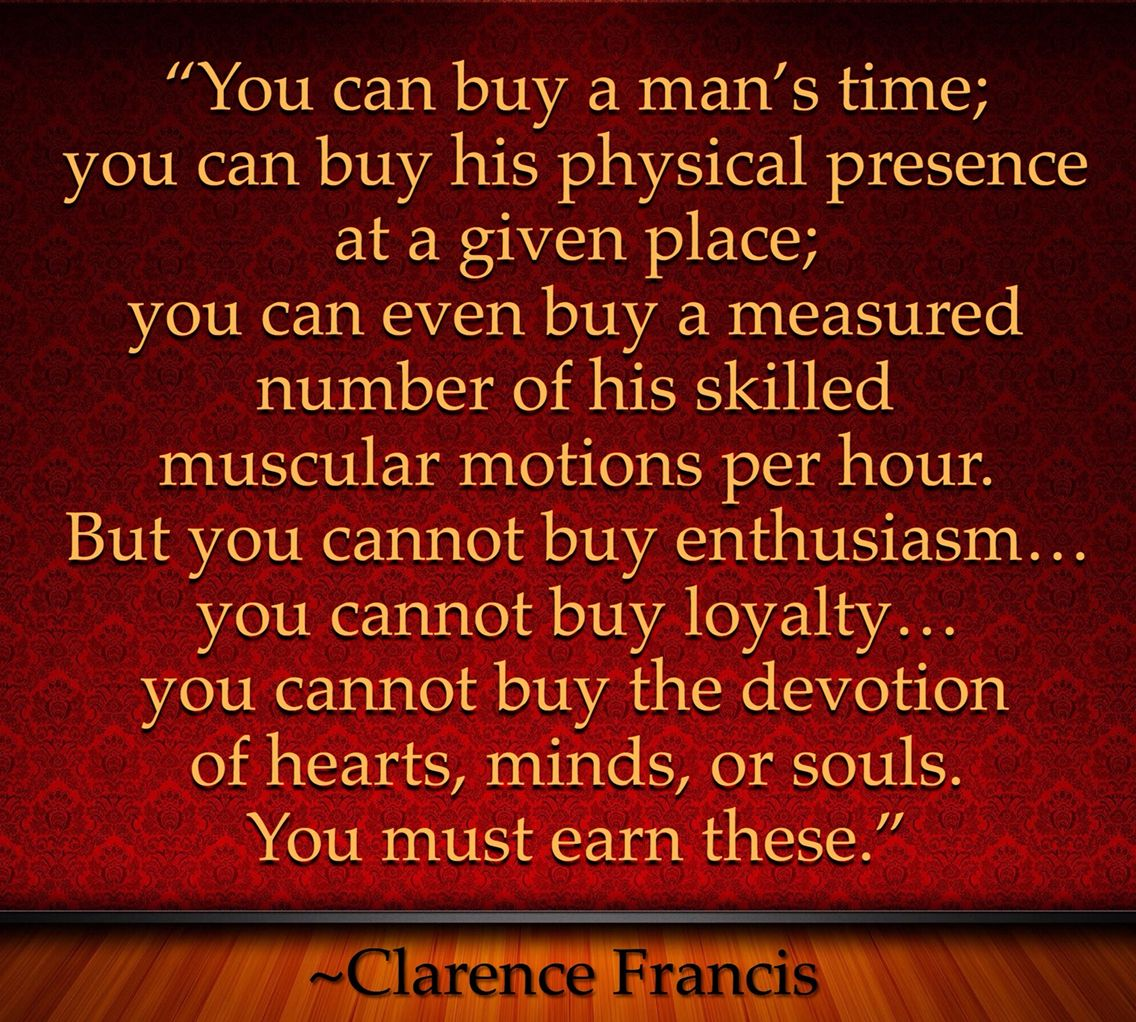 You Can Buy A Man S Time You Can Buy His Physical