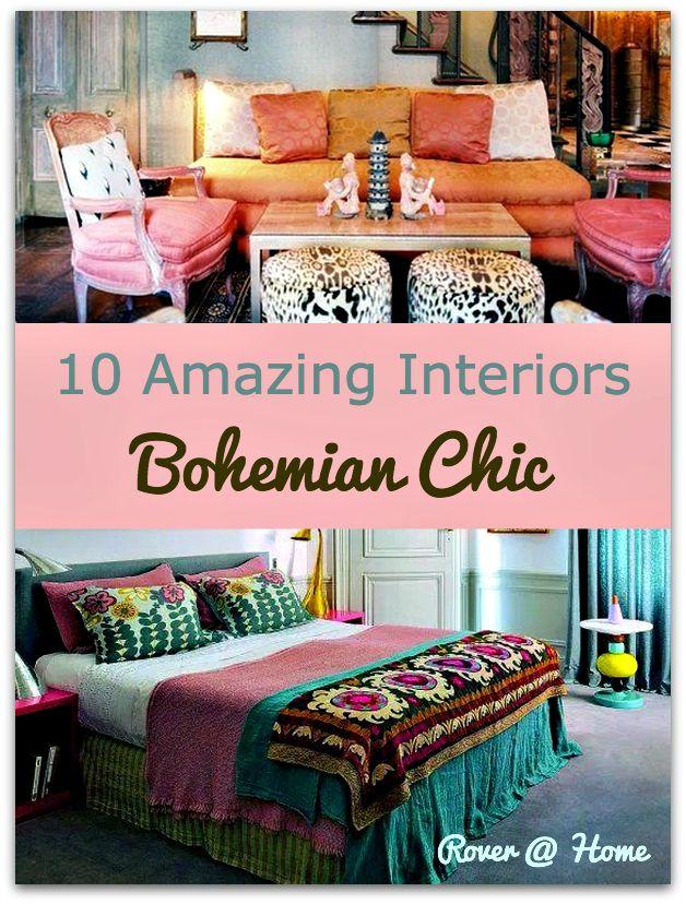 10 amazing bohemian chic interiors bohemian interior home and design on boho chic decor living room bohemian kitchen id=79231