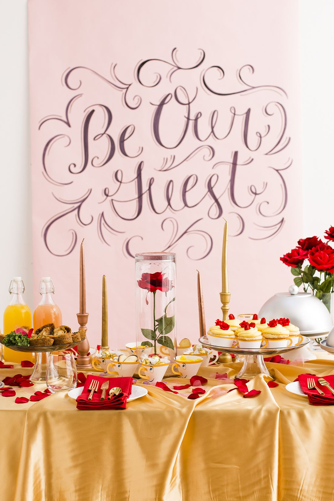 This Beauty And The Beast Inspired Dinner Party Will