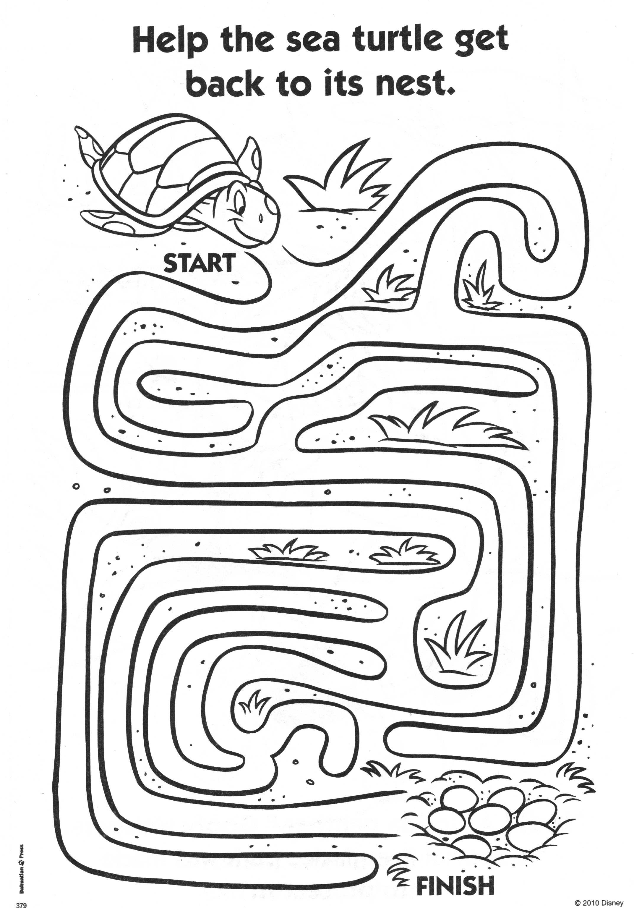 Disney Maze Preschool Worksheets Disney Best Free