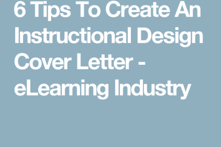 Free Professional Resume » instructional designer cover letter ...