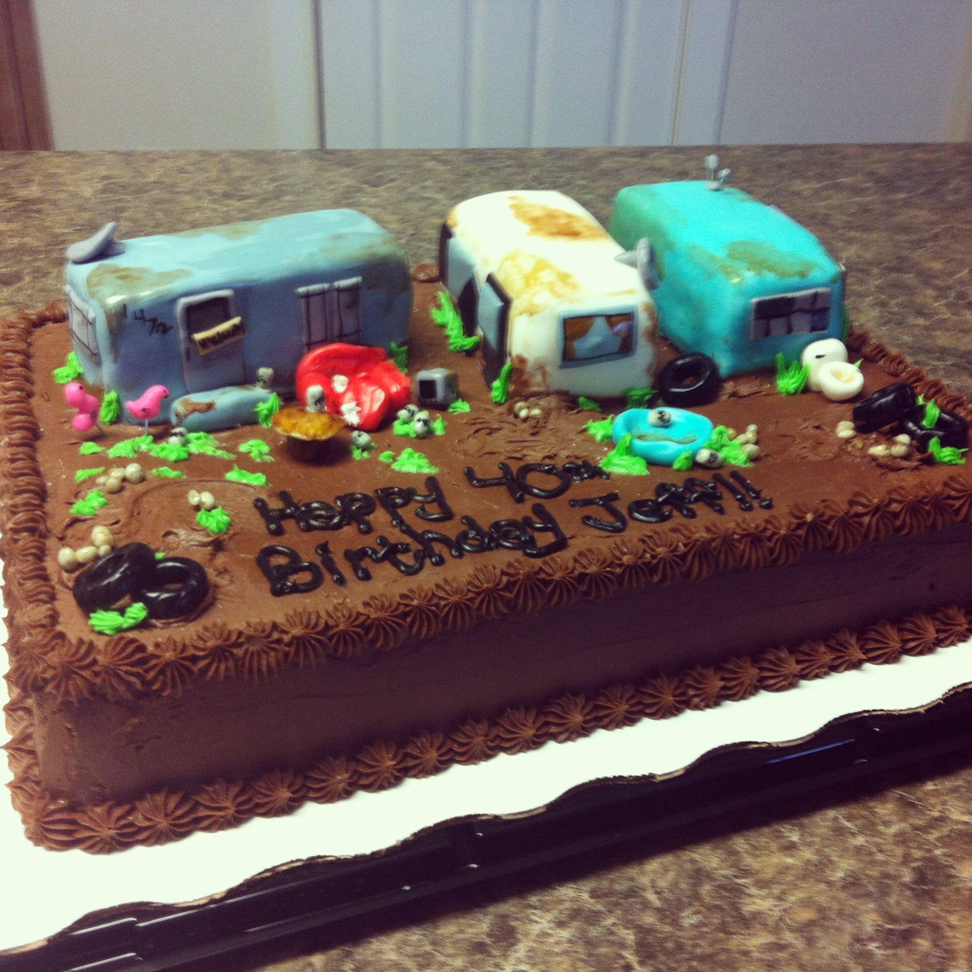 White Trash Trailer Park Cake