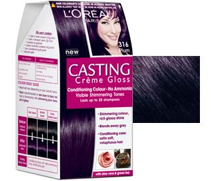 casting creme gloss hair color shade plum by loreal paris india