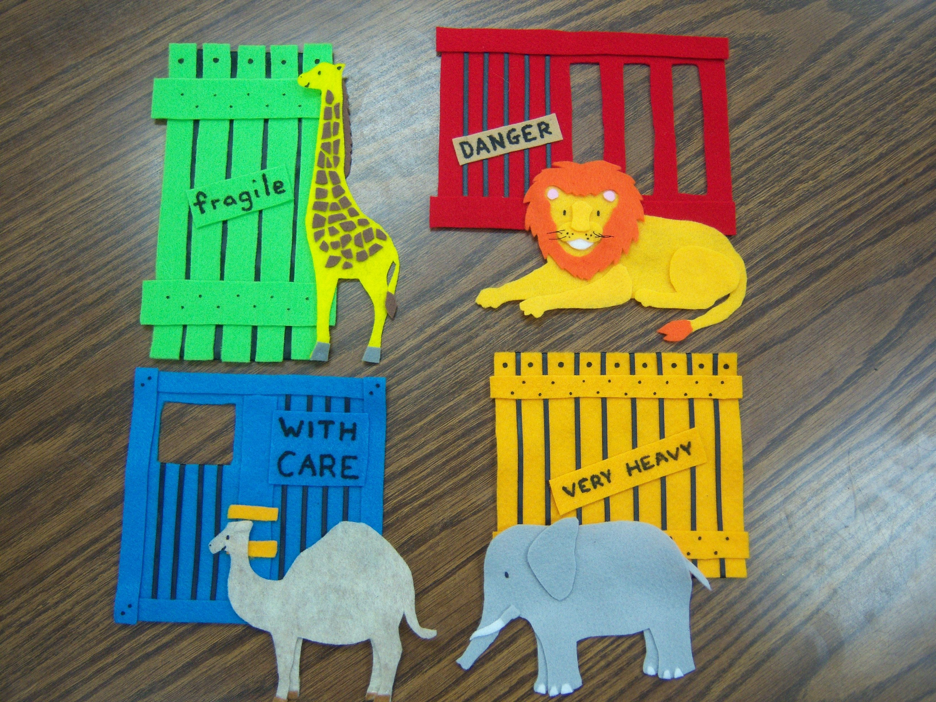 How To Make Dear Zoo Felt Pieces To Practice Retelling
