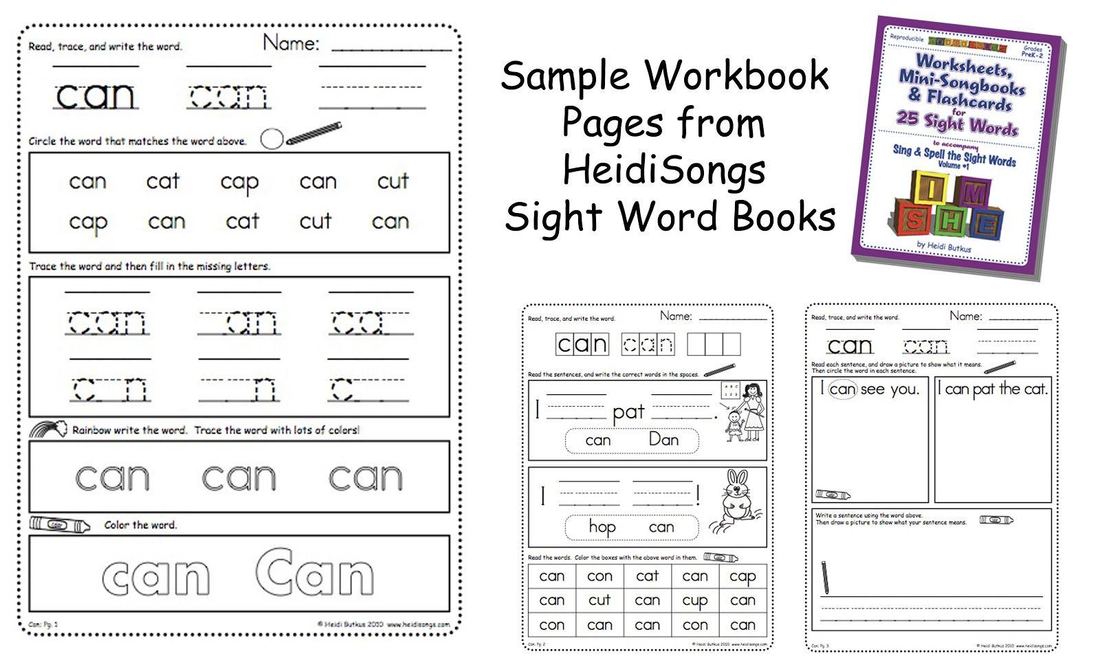 Heidisongs Resource Kindergarten Homework The Easy Way