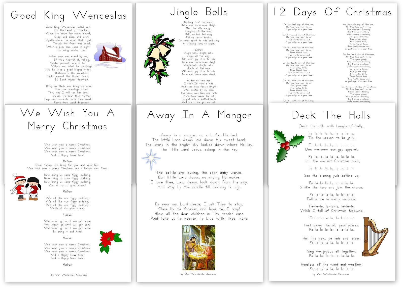 I Ve Started Compiling Our Christmas Songs And Carols Into