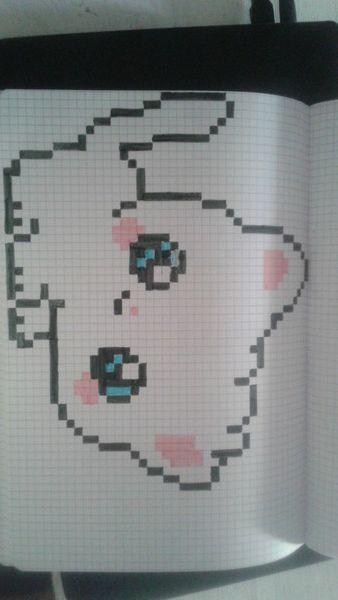 Pingl Par Lodie Marchetti Sur Pixel Art Pinterest Chats Dessin Pixel Et Dessin