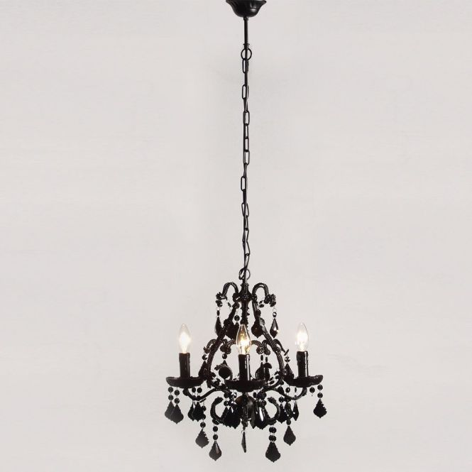 Mini Y Rexy Black Chandelier By The French Bedroom Company