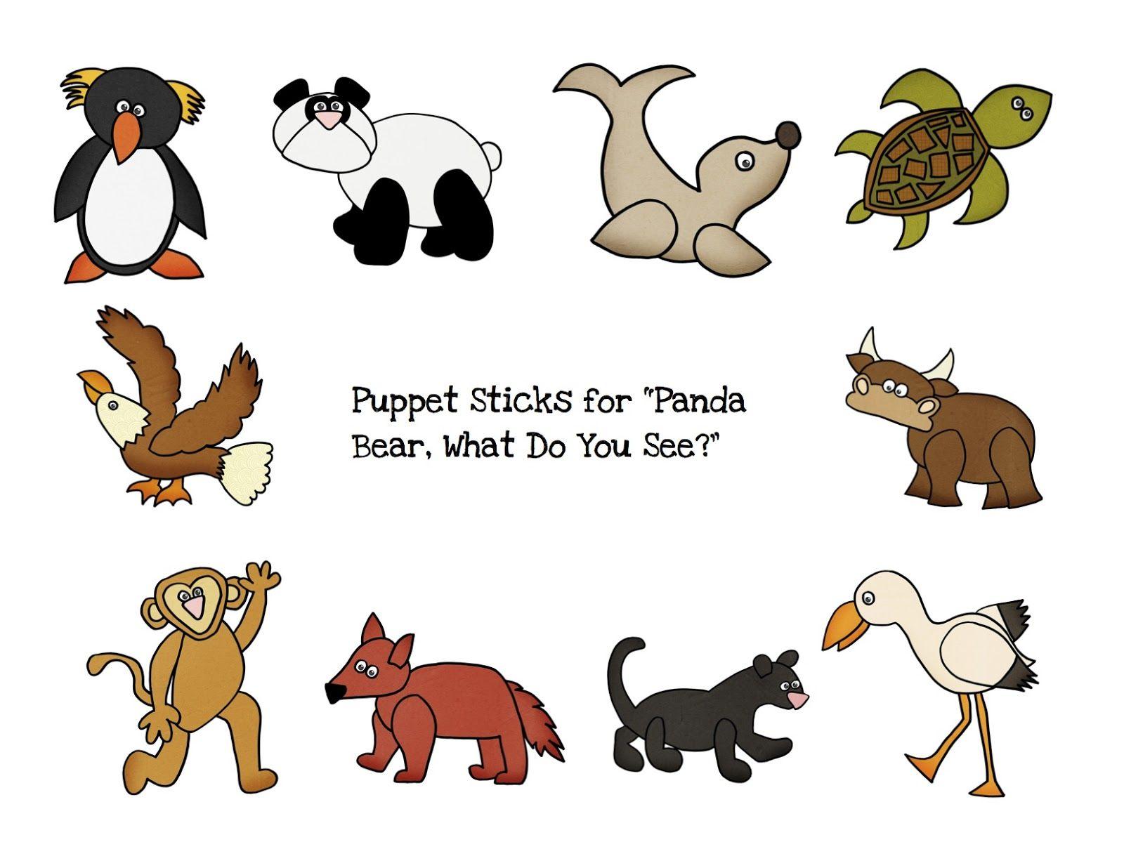 Preschool Printables Panda Bear