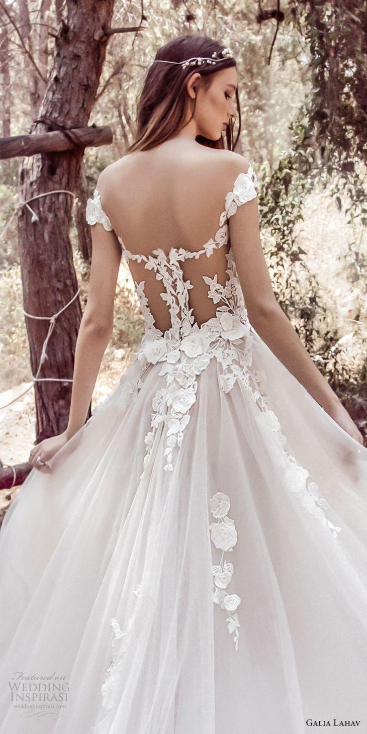 galia lahav gala   bridal cap sleeves sweetheart neckline