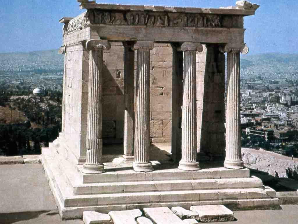 The Temple Of The Athena Nike