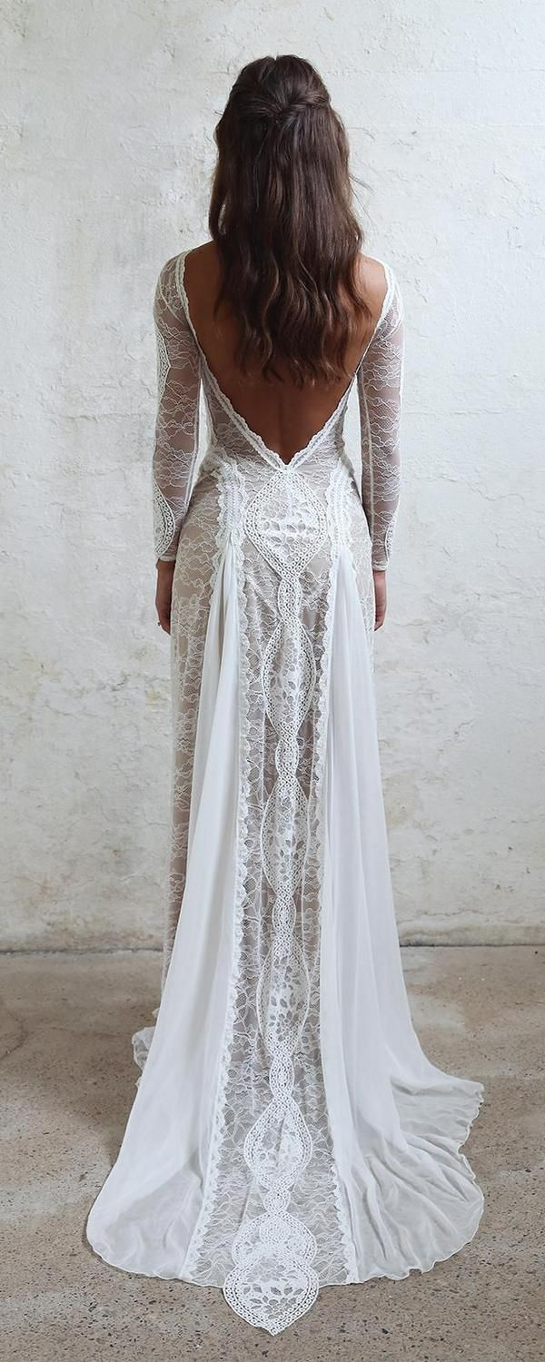 Bohemian Lace Wedding Dresses from Grace Loves Lace  Bohemian lace