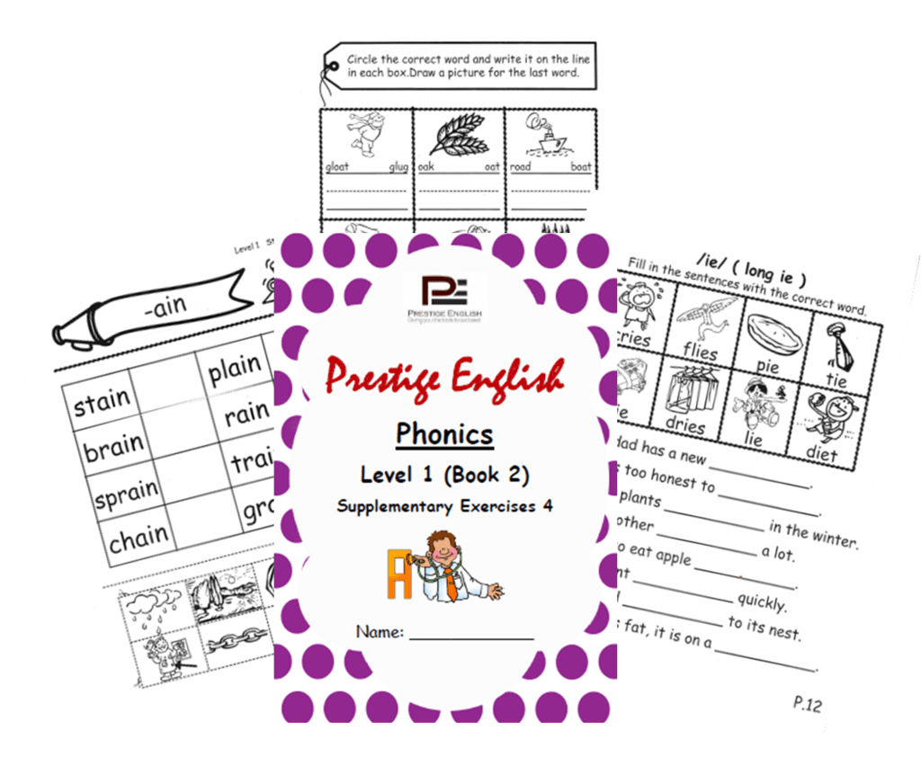 Phonics Book Level 1 Book 2 Supplementary Exercises 4 Jolly Phonics Letterland