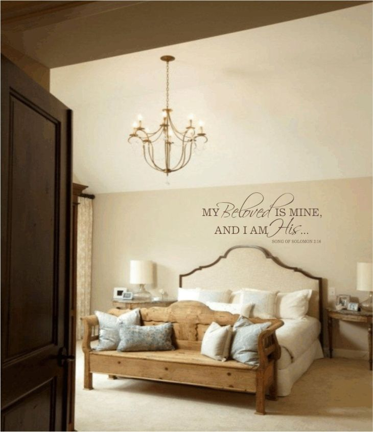 Master Bedroom  home  Pinterest  Bedroom wall decals Master