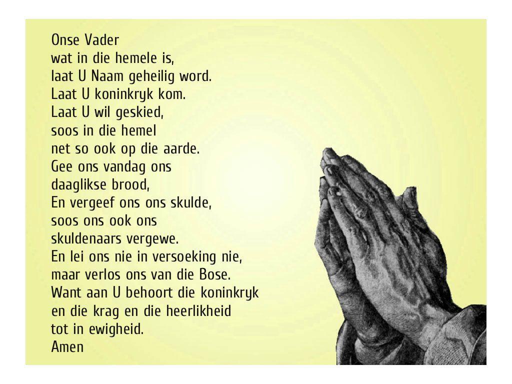 Onse Vader Gebed