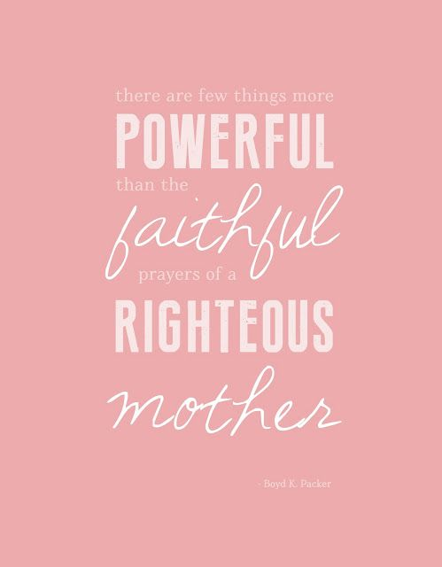 Mothers Day Printable - There are few things more powerful ...