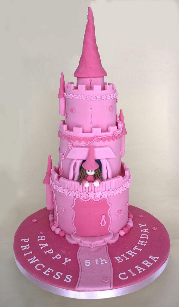 Image result for birthday cake princess tower flickr
