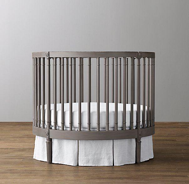 Baby Fever Ellery Round Crib Mattress