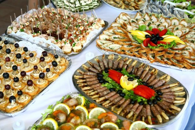 Holiday Cookie Exchange Party Finger Food Olives Sandwiches Peanuts
