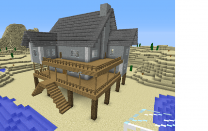 How To Build A Awesome House In Minecraft Survival Best House - Cool minecraft houses survival