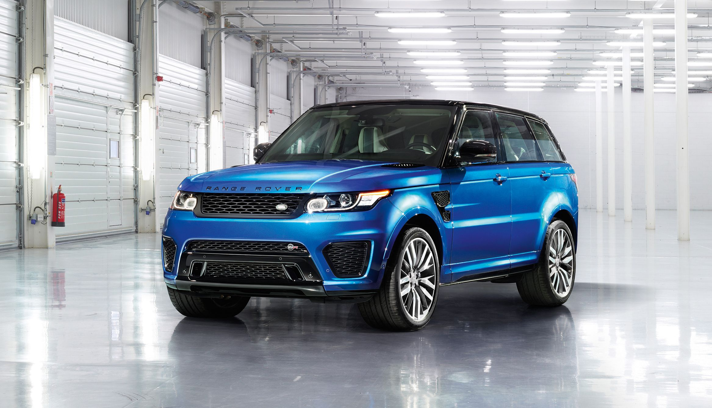 Facelifted Range Rover Sport SVR is a beast For more detail About