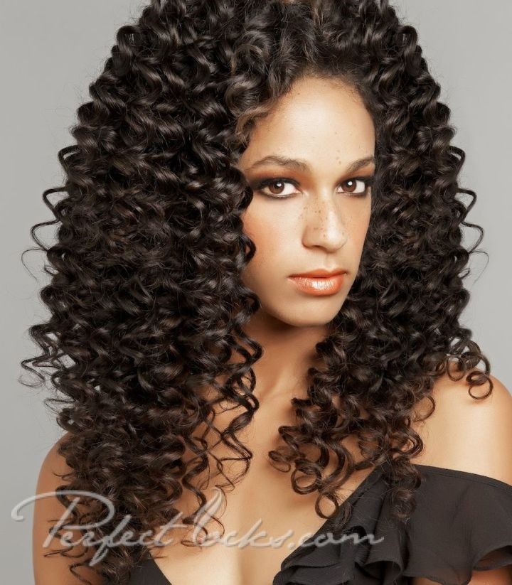 Curly Perm Styles Tight Steam Permed Indian Hair 189 00 Perfect Locks