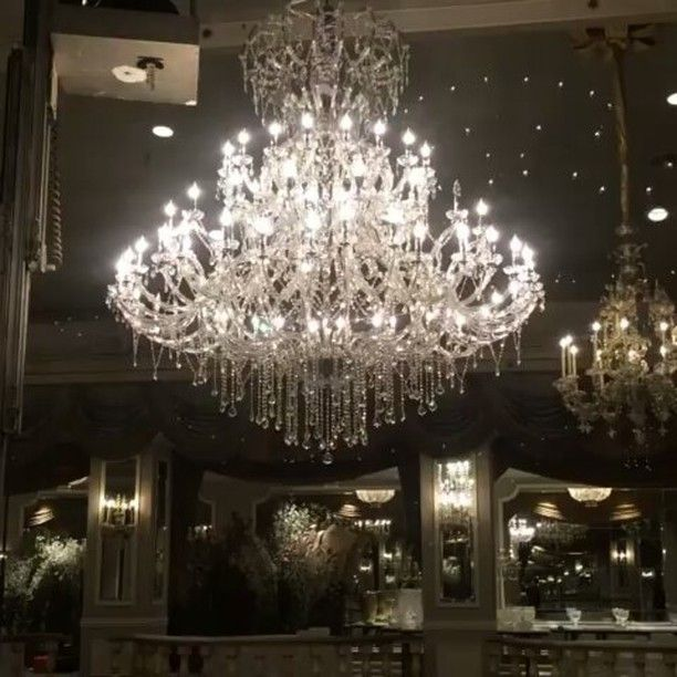 Our Breathtaking Mystic Crystal Chandelier At In New York City