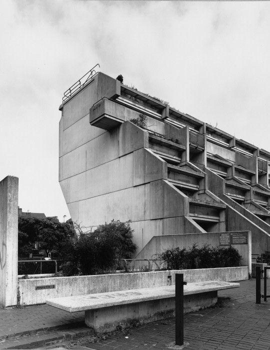 """The Architect's Jump"" at Alexandra Road, Camden, London ..."