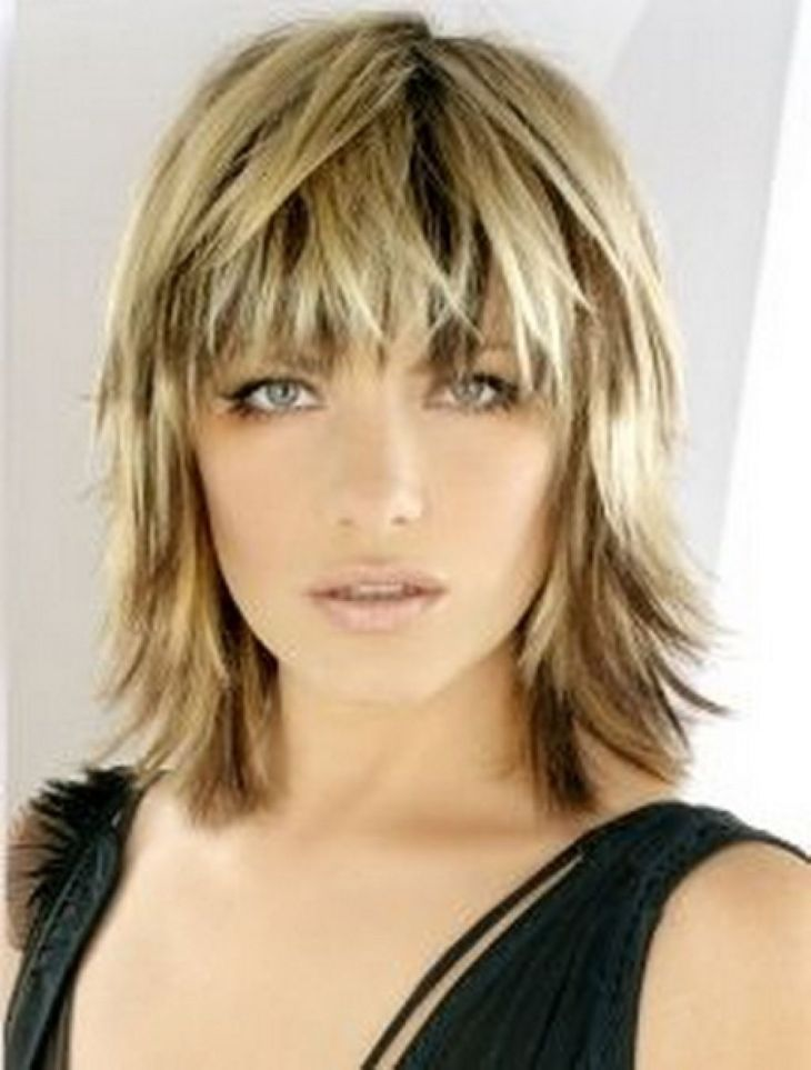 choppy shoulder length hair with fringe  Google Search  Hair