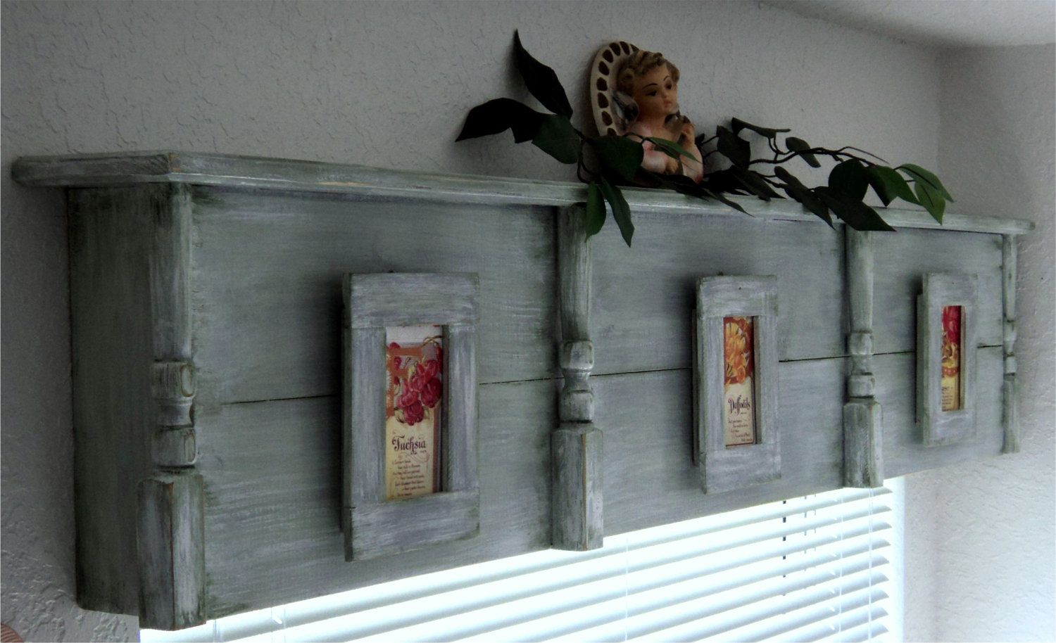 Wood Valance Boxes