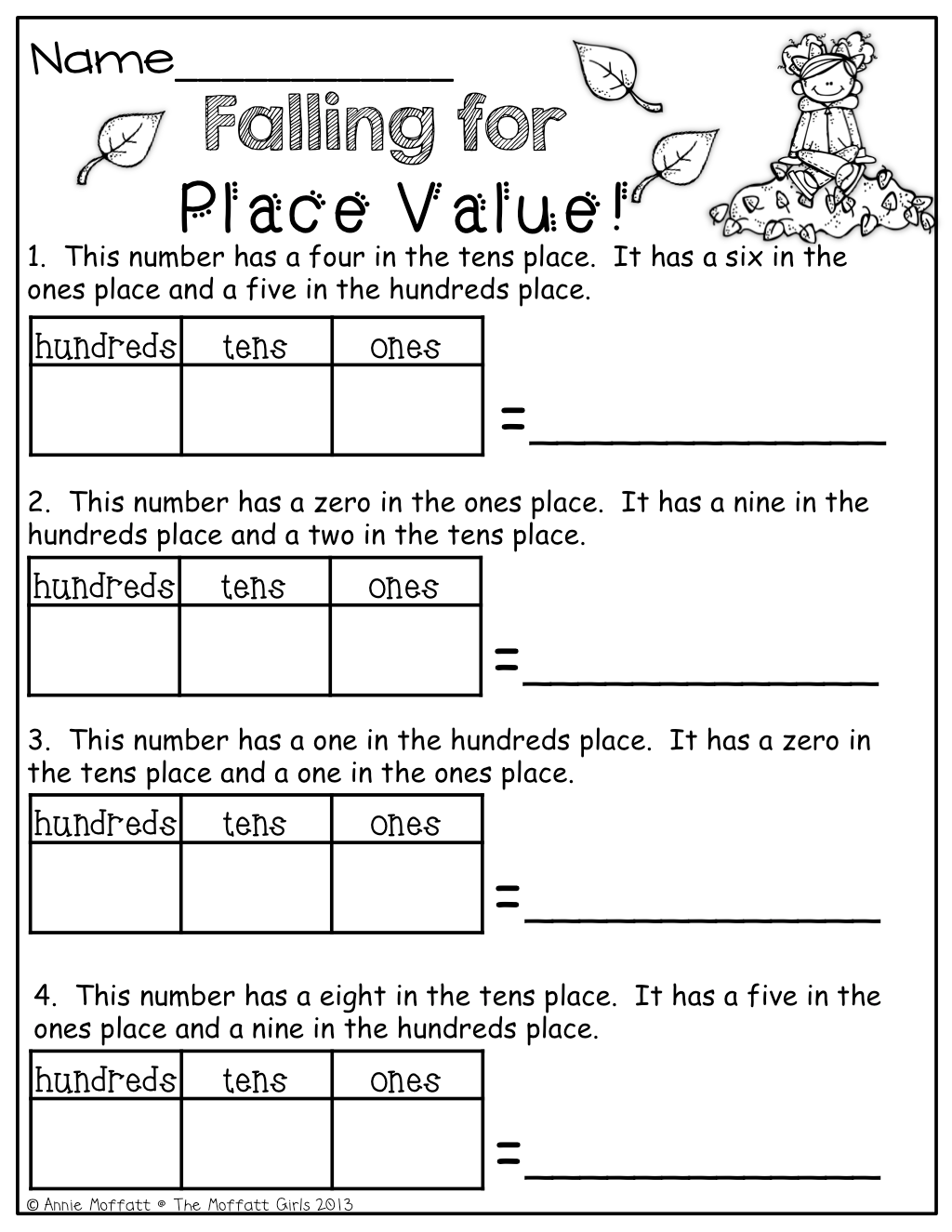 Place Value This Cost Money But I Can Do My Own 2 Nbt 1