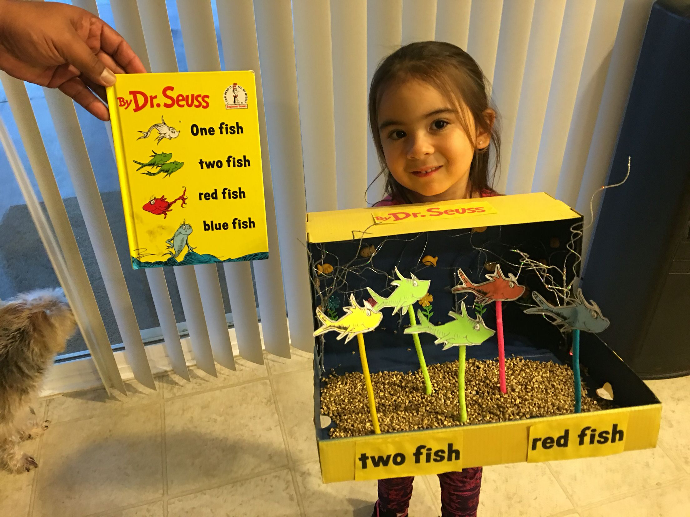 Dr Seuss One Fish Two Fish Diorama