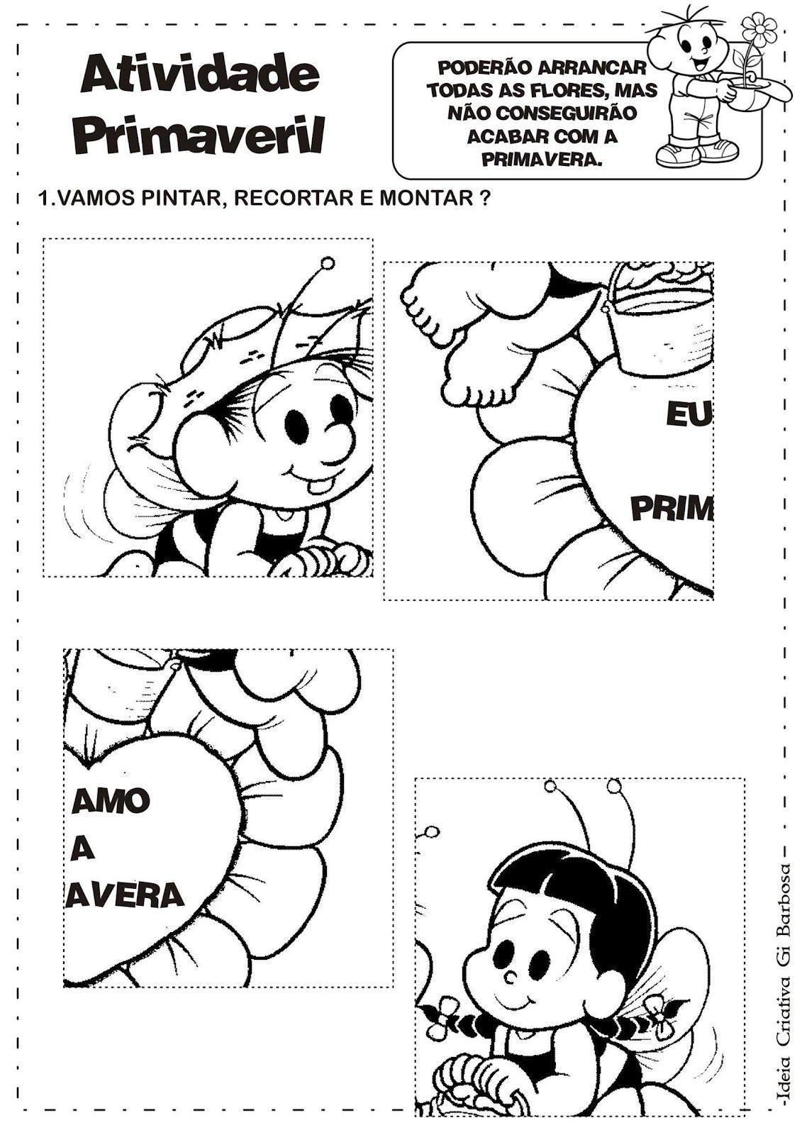 Atividade Primavera C3 81lbum Ideia Criativa Gi Barbosa 9