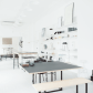 Home-office-innenarchitektur silver blonde  workspace  pinterest  blondes interiors and spaces