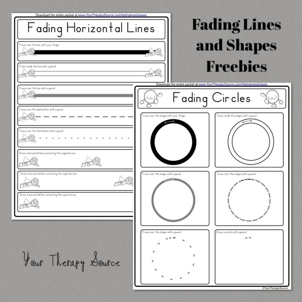 Fading Lines And Shapes Freebies From