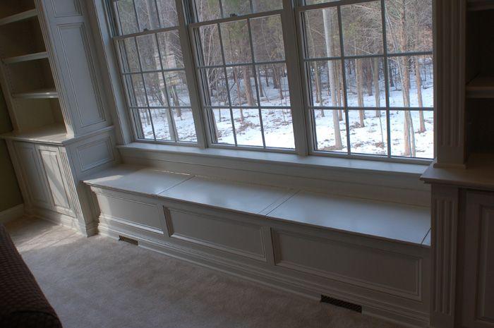 Window Built In S On Pinterest Window Seats Bookshelves