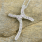 Madagascar pink sapphire platinum over sterling madagascar