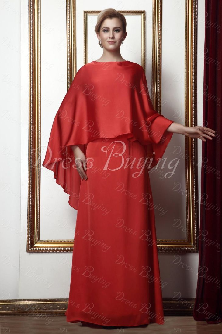 Fashionable Column Special Bride Dress Wedding Apparel  red one