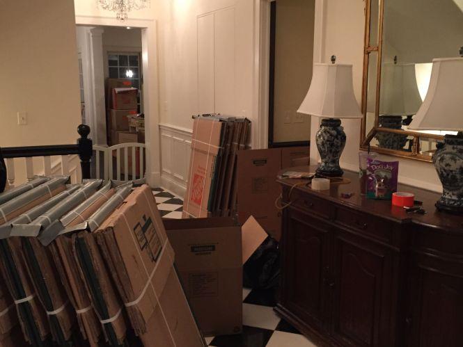 Creber Invoice 96330 Dinning Room Venetian Chandelier In Moving Box