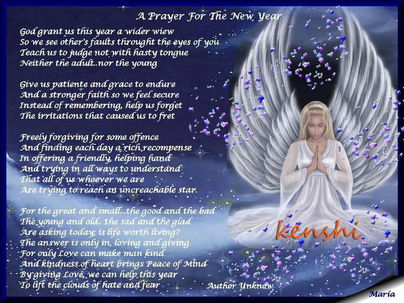 prayer new year greetings