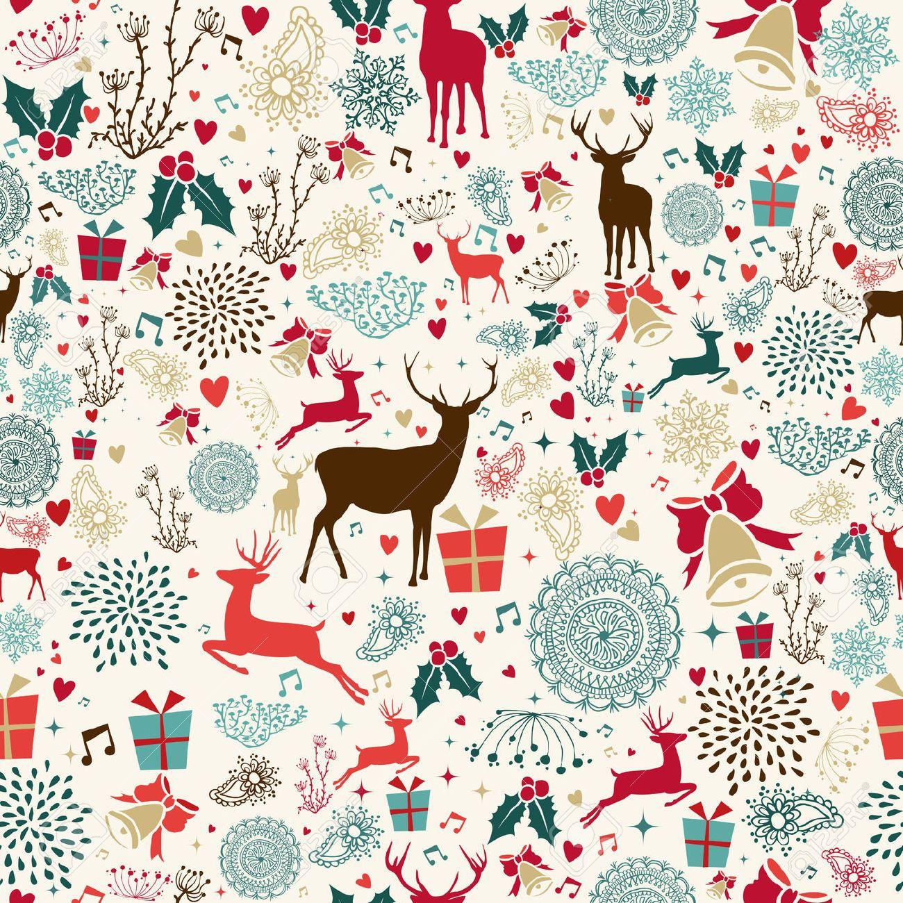 Retro Christmas Wallpaper Google Search Christmas Art