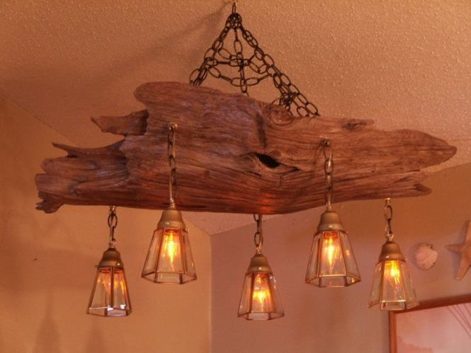 Driftwood Log Furniture Chandelier Projects To Try Pinterest And
