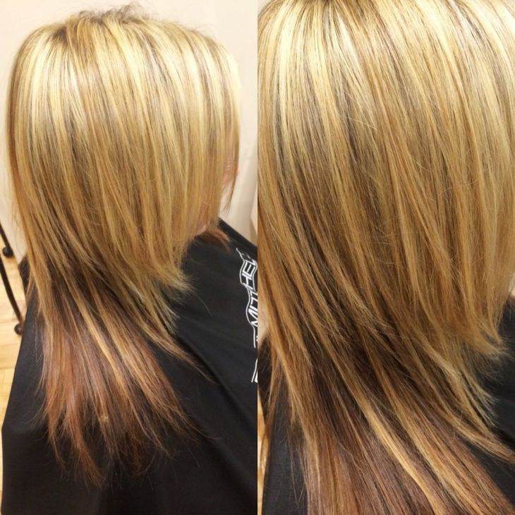 Highlights by me Hair by Me Heather Senecal Pinterest