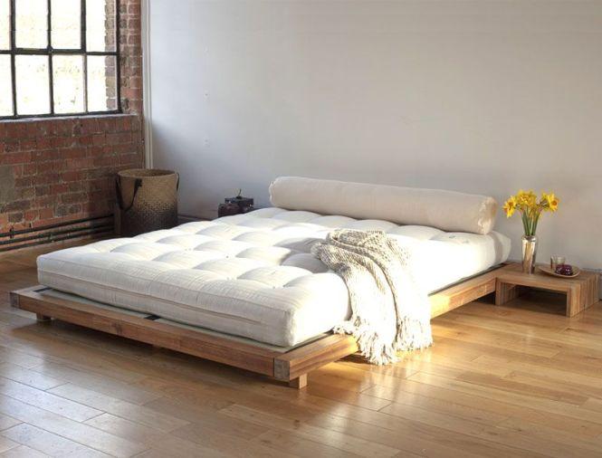 Futon Platform Bed Frame Home Decor Ideas